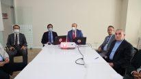 Daire Başkanları İle Süreç Değerlendirme Toplantısı Düzenlendi.